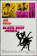 "Movie Posters:Blaxploitation, Black Belt Jones (Warner Brothers, 1974). One Sheet (27"" X 41"")Flat Folded. Blaxploitation.. ..."