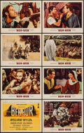 "Movie Posters:Academy Award Winners, Ben-Hur (MGM, 1959). Lobby Card Set of 8 (11"" X 14""). Academy AwardWinners.. ... (Total: 8 Items)"