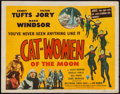 """Movie Posters:Science Fiction, Cat-Women of the Moon (Astor Pictures, 1954). Title Lobby Card (11""""X 14""""). Science Fiction.. ..."""