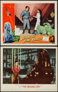 """Movie Posters:Science Fiction, The Invisible Boy & Other Lot (MGM, 1957). Lobby Cards (2) (11""""X 14""""). Science Fiction.. ... (Total: 2 Items)"""