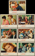 """Movie Posters:Foreign, Paris Does Strange Things (Warner Brothers, 1956). Lobby Cards (7) (11"""" X 14""""). Foreign.. ... (Total: 7 Items)"""