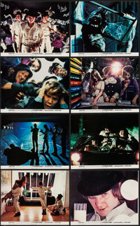 "A Clockwork Orange (Warner Brothers, 1971). Mini Lobby Card Set of 8 (8"" X 10""). Science Fiction. ... (Total:..."