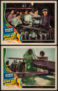 """Movie Posters:Adventure, Give Us Wings (Universal, 1940). Lobby Cards (2) (11"""" X 14"""").Adventure.. ... (Total: 2 Items)"""