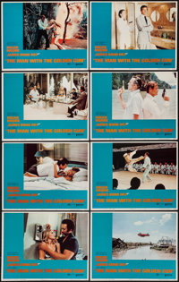 """The Man with the Golden Gun (United Artists, 1974). Lobby Card Set of 8 (11"""" X 14""""). James Bond. ... (Total: 8..."""