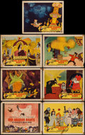 "Movie Posters:Animation, 1001 Arabian Nights (Columbia, 1959). Title Lobby Card & LobbyCards (6) (11"" X 14""). Animation.. ... (Total: 7 Items)"