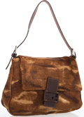 "Luxury Accessories:Accessories, Fendi Brown Pony Hair Mama Baguette . Good to Very GoodCondition. 10"" Width x 8""Height x 4"" Depth, 9"" ShoulderDrop..."