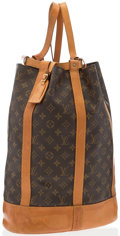 "Luxury Accessories:Accessories, Louis Vuitton Classic Monogram Canvas Randonnee ConvertibleShoulder Bag . Good Condition. 12"" Width x 18"" Height x7""..."