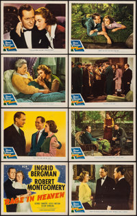 """Rage in Heaven (MGM, R-1946). Lobby Card Set of 8 (11"""" X 14""""). Drama. ... (Total: 8 Items)"""