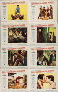"""Movie Posters:Hitchcock, The Trouble with Harry (Paramount, 1955). Lobby Card Set of 8 (11"""" X 14""""). Hitchcock.. ... (Total: 8 Items)"""