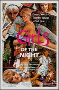 """Movie Posters:Adult, Girls of the Night & Others Lot (Caballero Releasing, 1984). One Sheets (4)(27"""" X 41"""" & 25"""" X 38""""). Adult.. ... (Total: 4 Items)"""