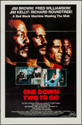"""Movie Posters:Blaxploitation, One Down, Two to Go & Other Lot (Almi Pictures, 1982). One Sheets (2) (27"""" X 41"""") Flat Folded. Blaxploitation.. ... (Total: 2 Items)"""
