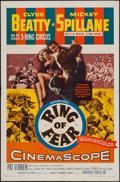 "Movie Posters:Mystery, Ring of Fear (Warner Brothers, 1954). One Sheet (27"" X 41"").Mystery.. ..."