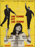 """Movie Posters:Foreign, A Woman is a Woman (Unidex, 1961). French Grande (47"""" X 61""""). Foreign.. ..."""