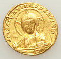Ancients:Byzantine, Ancients: Constantine VII Porphyrogenitus (AD 913-959), withRomanus II (AD 945-963). AV solidus (4.40 gm). ...