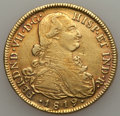 Colombia, Colombia: Ferdinand VII gold 8 Escudos 1819 NR-JF VF Cleaned,...