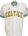 Basketball Collectibles:Others, 1988-89 Kevin McHale Game Worn Boston Celtics Shooting Jacket. ...