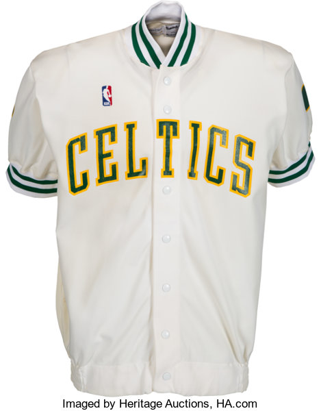 a928f6428de ... Basketball Collectibles:Others, 1988-89 Kevin McHale Game Worn Boston  Celtics Shooting Jacket ...