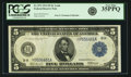 Fr. 872 $5 1914 Federal Reserve Note PCGS Very Fine 35PPQ