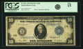 Fr. 911c $10 1914 Federal Reserve Note PCGS Fine 15