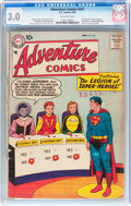 Silver Age (1956-1969):Superhero, Adventure Comics #247 (DC, 1958) CGC GD/VG 3.0 Off-white pages....