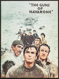 "Movie Posters:War, The Guns of Navarone (Columbia, 1961). Program (Multiple Pages),Color Photos (7), Photos (13) (8"" X 10""), & Trimmed Photo (...(Total: 22 Items)"