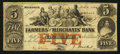 Obsoletes By State:Tennessee, Memphis, TN- Farmers' and Merchants' Bank $5 Mar. 1, 1854 . ...