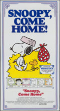 """Movie Posters:Animation, Snoopy, Come Home! (National General, 1972). Three Sheet (41"""" X 81""""). Animation.. ..."""