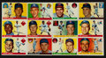 Baseball Cards:Lots, 1955 Topps Baseball Partial Set (120/206) with 12 High Numbers....