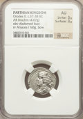 Ancients:Oriental, Ancients: PARTHIAN KINGDOM. Orodes II (57-38 BC). AR drachm (4.07 gm)....