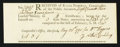Colonial Notes:Connecticut, Connecticut Interest Receipt £8.3s.9d May 28, 1790 Choice New.. ...
