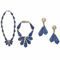 Estate Jewelry:Suites, Sodalite, Sterling Silver Suite. ...