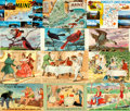 Miscellaneous:Postcards, [Postcards]. Huge Lot of Assorted Postcards. Approximately 200cards total. Various publishers and dates. ...