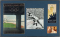 Olympic Collectibles:Autographs, 1976 Jesse Owens Signed Photograph & Signed 1936 Olympic Program. ...
