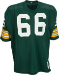 Football Collectibles:Uniforms, 1973 Ray Nitschke Game Worn Green Bay Packers Jersey - Most Likely the Last Home Jersey Ever Worn by Nitschke! ...