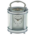 Timepieces:Clocks, Like New/Old Stock Forum 8 Days Table Clock. ...