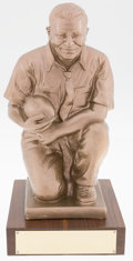 Football Collectibles:Others, Vince Lombardi 15 Inch Keith Smykal Custom Trophy....