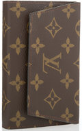 "Luxury Accessories:Home, Louis Vuitton Classic Monogram Canvas Playing Card Case. Very Good Condition. 5.5"" Width x 3.5"" Height x 1"" Depth. ..."