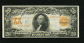 Large Size:Gold Certificates, Fr. 1186 $20 1906 Gold Certificate Very Fine+. Here is yet another utterly problem free original note. The back is quite bri...