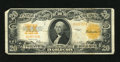 Large Size:Gold Certificates, Fr. 1187 $20 1922 Mule Gold Certificate Very Fine. No problems are noted on this colorful example that retains much crispnes...