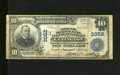 National Bank Notes:Kentucky, Lexington, KY - $10 1902 Plain Back Fr. 627 Phoenix NB & TC Ch.# 3052. An interesting counterpart to the previous lot a...