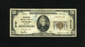 National Bank Notes:Kentucky, Newport, KY - $20 1929 Ty. 1 The American NB Ch. # 2726. Bowing topressure from the community this institution changed ...