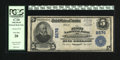 National Bank Notes:Kentucky, Owensboro, KY - $5 1902 Plain Back Fr. 608 The First NB Ch. # 2576.This note graded Very Fine 20 by PCGS is the fir...