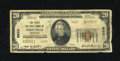 National Bank Notes:Kentucky, Pikeville, KY - $20 1929 Ty. 2 The First NB Ch. # 6622. Type 2notes off this institution are somewhat scarce. A little ...