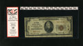 National Bank Notes:Maryland, Cumberland, MD - $20 1929 Ty. 1 The Second NB Ch. # 1519. This $20earned the red label holder because of left-hand marg...
