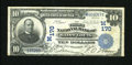 National Bank Notes:Missouri, Saint Louis, MO - $10 1902 Date Back Fr. 616 The Third NB Ch. #(M)170. President F.O. Watts printed signature also appe...