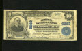 National Bank Notes:Pennsylvania, Catasauqua, PA - $10 1902 Plain Back Fr. 625 The Lehigh NB Ch. # 8283. Only six large examples are enumerated in the Ke...