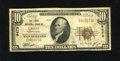 National Bank Notes:Pennsylvania, Gratz, PA - $10 1929 Ty. 2 The First NB Ch. # 9473. This is onlythe sixth example reported from this scarce Dauphin Co...