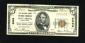 National Bank Notes:Pennsylvania, West Grove, PA - $5 1929 Ty. 1 The NB & TC Ch. # 2669. This note from a tougher bank retains white surfaces with some em...