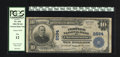 National Bank Notes:Virginia, Charlottesville, VA - $10 1902 Plain Back Fr. 634 The Peoples NBCh. # 2594. Officers are H.A. Dinwiddie and G.R.B. Mich...
