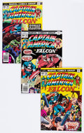 Modern Age (1980-Present):Superhero, Captain America Box Lot (Marvel, 1976-94) Condition: Average VF....